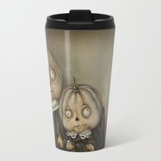 Rucus Studio Ghoul Kids Pumpkins Travel Mug