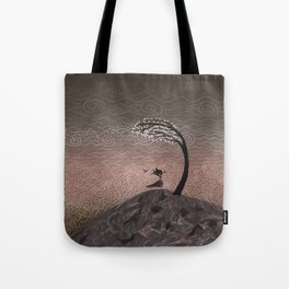 Witch in the Wind Tote Bag