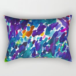watercolor color study vol 1 Rectangular Pillow