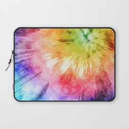 Tie Dye Watercolor Laptop Sleeve