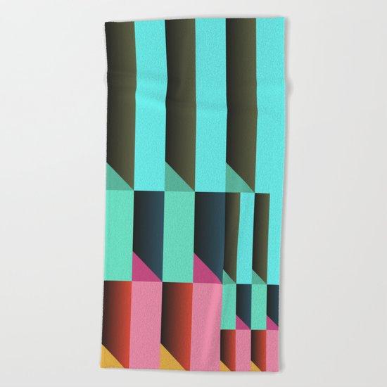 Geometric#26 Beach Towel