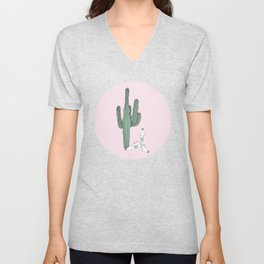 Cactus and Tequila Unisex V-Neck