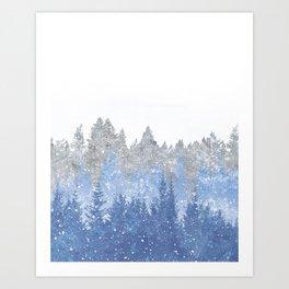 Study in Solitude Art Print