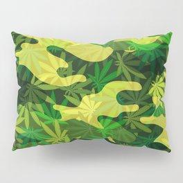 Marijuana Camo Pillow Sham