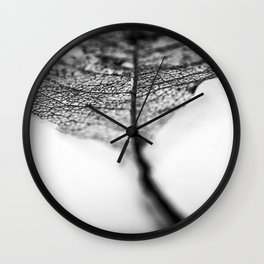 Nature's Pathway Wall Clock