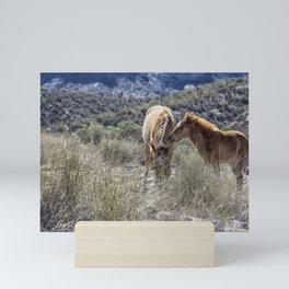 Salt River Mare and Her Colt, No. 1 Mini Art Print