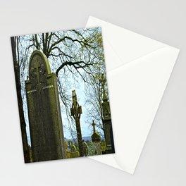 The Graveyard at Monasterboice Stationery Cards