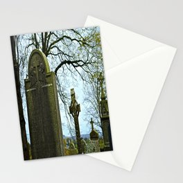 The Graveyard at Monasterboice Stationery Cards