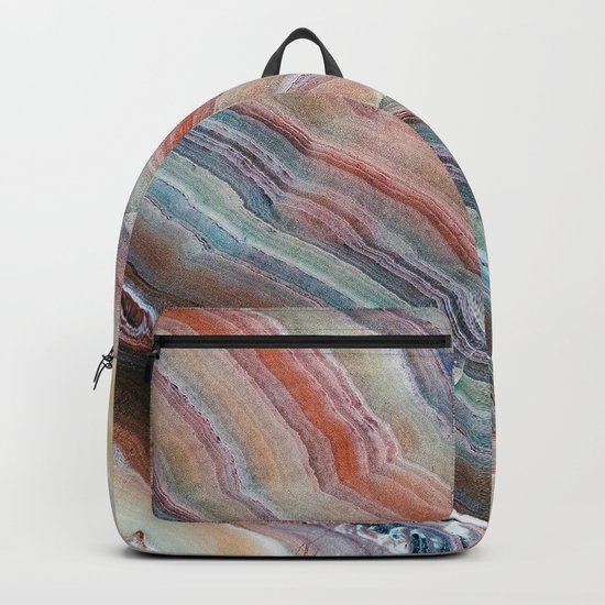 Pastel Onyx Marble Backpack