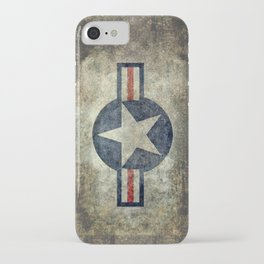 Stylized US Air force Roundel iPhone Case