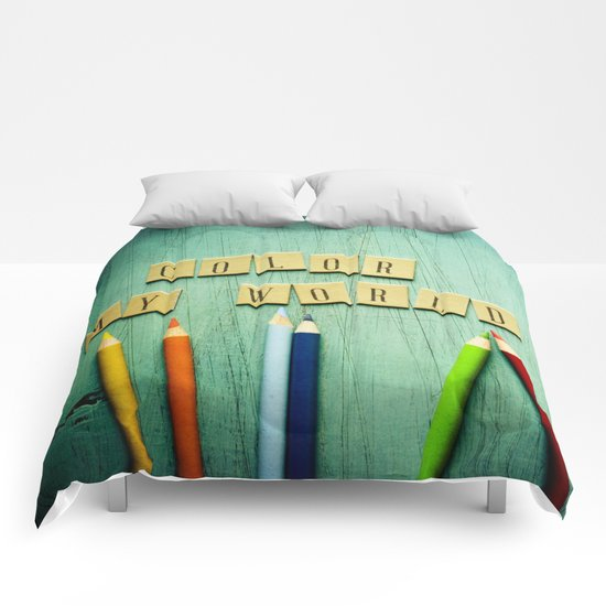 Color My World Comforters