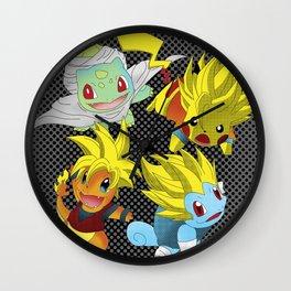 Poke-Ball Z Wall Clock
