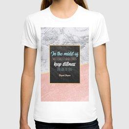 Keep stillness inside of you T-shirt