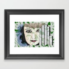 Took My Hands Off of Your Eyes Too Soon Framed Art Print