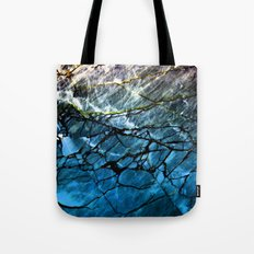 Blue Labradorite Crystal Tote Bag