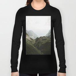Beam Landscape Photography Long Sleeve T-shirt