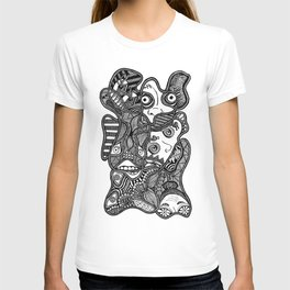 Faces in the Dark T-shirt