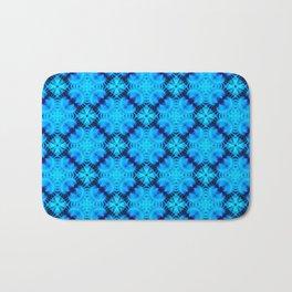 Blue Fans of Japan Bath Mat