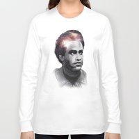 1989 Long Sleeve T-shirts featuring Huey Percy Newton (2/17/1942 – 8/22/1989) by JJUTT
