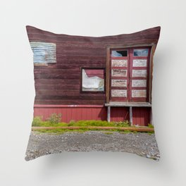 Abandoned patterns. Throw Pillow