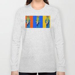 PeaHen & Cassowaries Long Sleeve T-shirt
