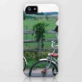 Sunday Bike Ride iPhone Case