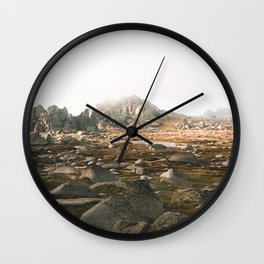 Rams Head IV Wall Clock