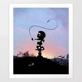 Wonder Kid Art Print