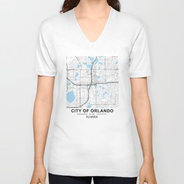 City of Orlando, Florida Unisex V-Neck