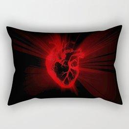 heart light Rectangular Pillow