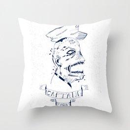 Captain Fury Throw Pillow