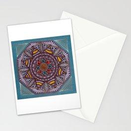 Octagonal Mandala Hand Drawn Stationery Cards