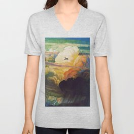 Catmota - N.C. Wyeth Unisex V-Neck
