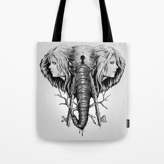 Hidden Memories (B/W) Tote Bag