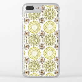 Ornate Pattern. Damask Pattern Clear iPhone Case