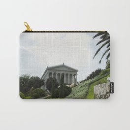 Bahai public gardens and temple on the slopes of the Carmel Mountain in Haifa, Israel Carry-All Pouch