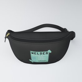 Welding - Welder Hourly Rates Fanny Pack