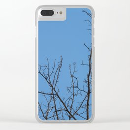 Time to grow up Clear iPhone Case