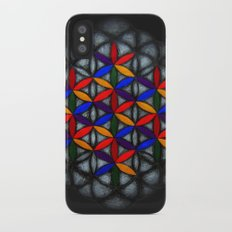 Flower of Life iPhone X Slim Case