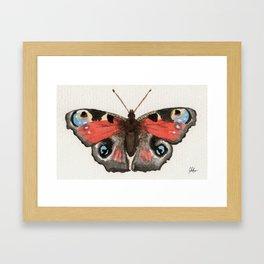 Butterfly Two Gerahmter Kunstdruck