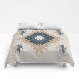 Santa Fe Southwest Native American Indian Tribal Geometric Pattern Comforters