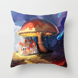 Tiny Kingdom Throw Pillow