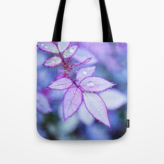 Lilac Rim Tote Bag