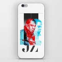 jay z iPhone & iPod Skins featuring JAY-Z by michael pfister