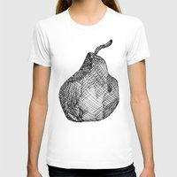 pear T-shirts featuring Pear by Of Newts and Nerds