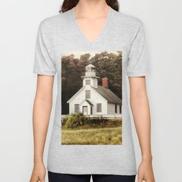 The Lighthouse Unisex V-Neck