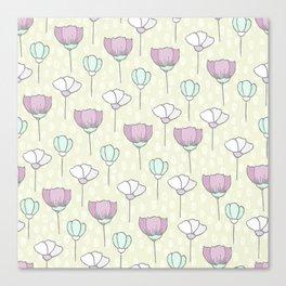 flowers pattern zz Canvas Print