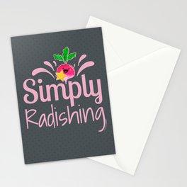 Simply Radishing - Punny Garden Stationery Cards