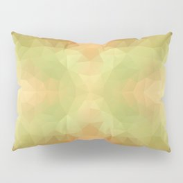 """Pumpkin pancakes"" triangles design Pillow Sham"