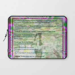 The 3 Wishes. (a post modern fairytale) Laptop Sleeve